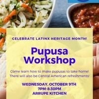 Pupusa Making Workshop