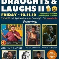 Draughts & Laughs II @ Checkerspot Brewing Company