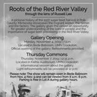 Roots of the Red River Valley Gallery Opening