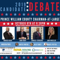 Prince William Board of County Supervisors Chairman at Large Candidate Debate