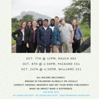 Global Social Impact Fellowship and Lehigh Valley Social Impact Fellowship Information Session