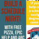Build A Schedule Night - Spring Class Registration