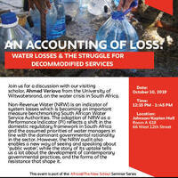 An Accounting of Loss: Water Losses and the Struggle for Decommodified Services