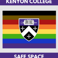 Kenyon College Safe Space logo