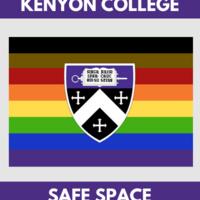 Kenyon College Safe Space logo