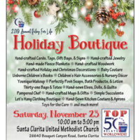 2019 Annual Relay For Life HOLIDAY BOUTIQUE