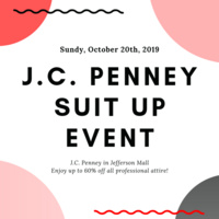J.C.Penney Suit Up Event