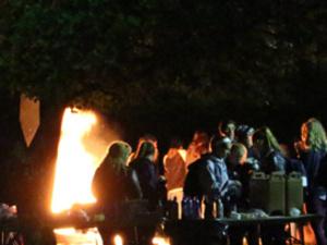 Campus Bonfire