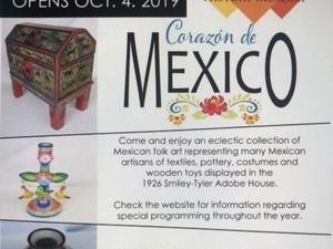 Corazon de Mexico Exhibit