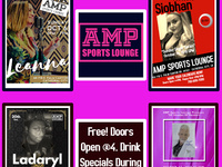 "AMP Presents, ""Sunday Brunch Singer Series"""