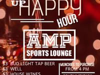 AMP'd Up Happy Hour