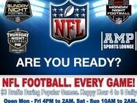 Sunday Night, Monday Night & Thursday Night Football