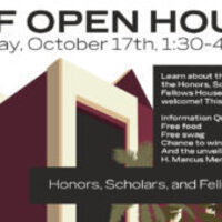 Honors, Scholars, and Fellows Open House