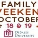 Family Weekend 2019