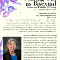 Coming Out as Bisexual: Pathways, Pitfalls and Poetry