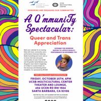A Q'mmuniTy Spectacular: Queer and Trans Appreciation