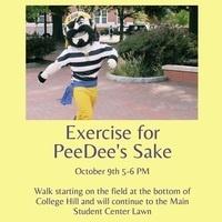 Exercise For PeeDee's Sake