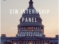 CIW Internship Panel