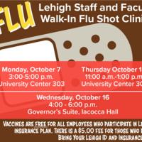 Flu Shot Clinics for Faculty Staff