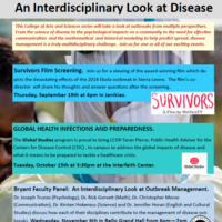 Bryant Faculty Panel: An Interdisciplinary Look at Outbreak Management
