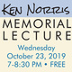 Ken Norris Memorial Lecture: Salt Water Intrusion Along Monterey Bay—Is Our Groundwater Too Salty?