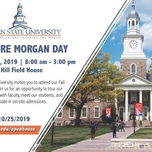 Explore Morgan Day - Fall Open House