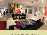 Elena Bulatova Fine Art Novermber's Artwalk