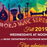 World Music Series: SBLASLO Trio