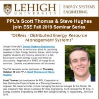 Energy Systems Engineering Seminar Series