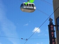 Halloween Fun at the Portland Aerial Tram
