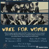 Wake for Women at Field Hockey vs Virginia