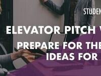 Elevator Pitch Workshop - Prepare for the iChallenge Ideas for Innovation