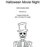 Halloween Movie Watch Night