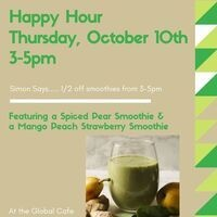 Happy Hour at Williams - 50% off smoothies | Dining Services
