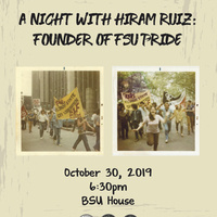 A night with Hiram Ruiz: Founder of FSU Pride