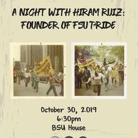 A night with Hiram Ruiz: Founder of FSU Pride