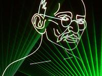 Gandhi: A Laser Journey