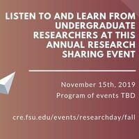 Fall Research Day 2019