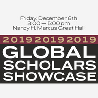 Global Scholars Showcase 2019