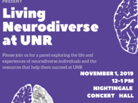 Living Neurodiverse at UNR