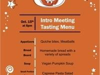 Veterinarians Eating Tasty Snacks Introduction Meeting