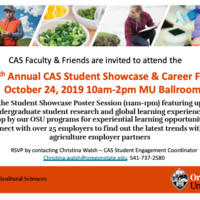 College of Agricultural Sciences Student Showcase & Career Fair
