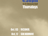 """""""Sin Nombre"""" Film of the Latin American Film Series, OCT 17, G01 Stimson Hall, 4:30 PM, pizza served"""