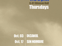 """""""The Future Perfect"""" Latin American Film MIGRATION Series, OCT 17, G01 Stimson Hall, 4:30 PM, pizza served"""
