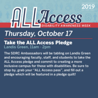 Disability Awareness Week: Take the ALL Access Pledge