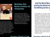 And the World Won't End: Re-writing the Racial Imaginary in the Writing Centre and Writing Classroom with Dr. Frankie Condon