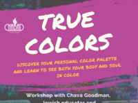 True Colors: Discover your personal color palette and learn to see both your body and soul in color