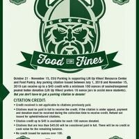 Lift Up Vikes! Food For Fines Campaign