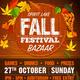 Fall Festival Bazaar