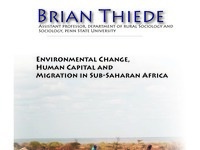 Environmental Change, Human Capital, and Migration in Sub-Saharan Africa